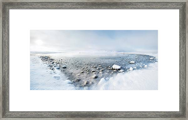 Alone In The Silence Framed Print by Nicola Molteni