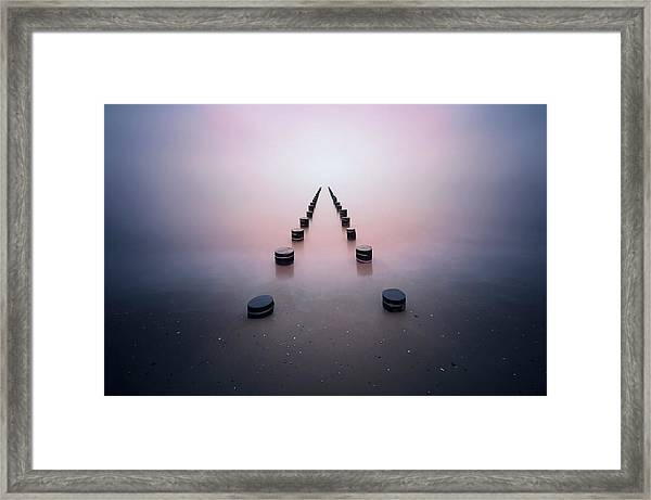 Alone In The Silence Framed Print by Srecko Jubic