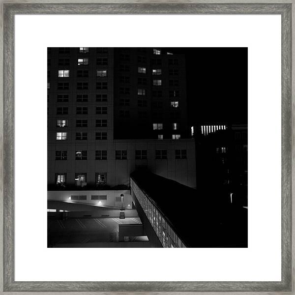 Alone Together Framed Print