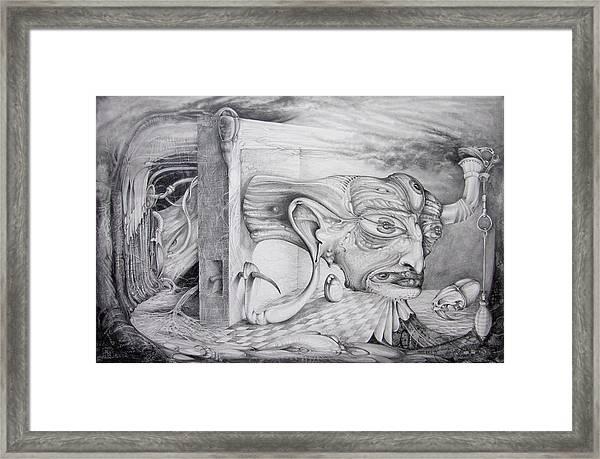 Alpha And Omega - The Reconstruction Of Bogomils Universe Framed Print