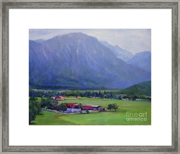 Alpine Treasure Framed Print