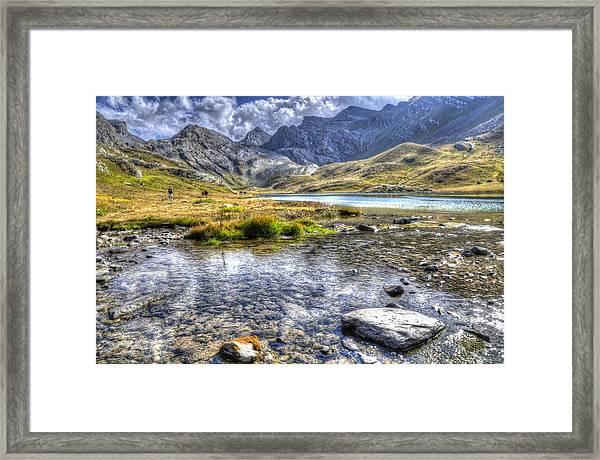 Alps Southern France Framed Print by Seruddin Salleh