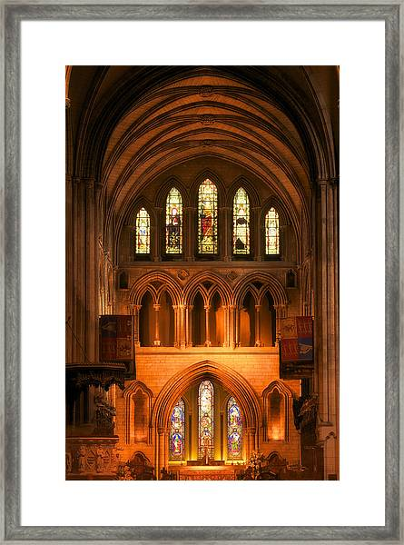 Altar Of St. Patrick's Cathedral Framed Print