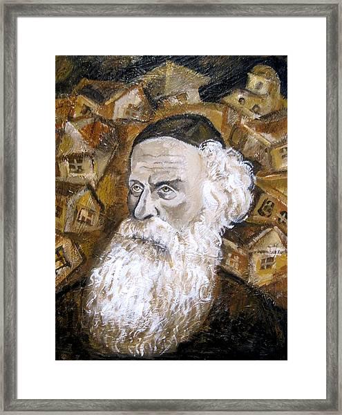 Alter Rebbe Framed Print