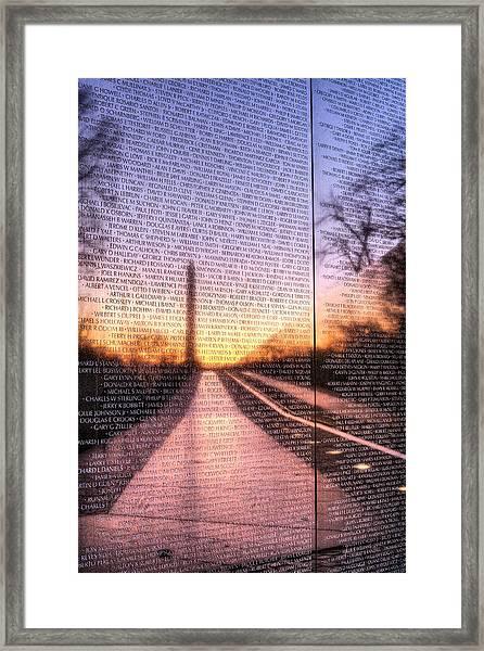 Always Remembered  Framed Print