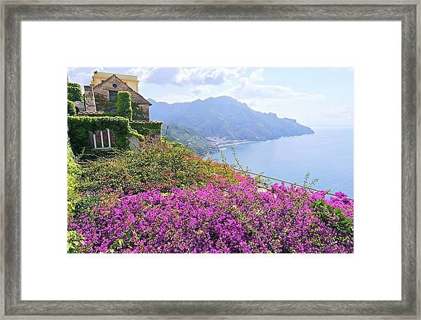 Amalfi Coast Vistas Framed Print