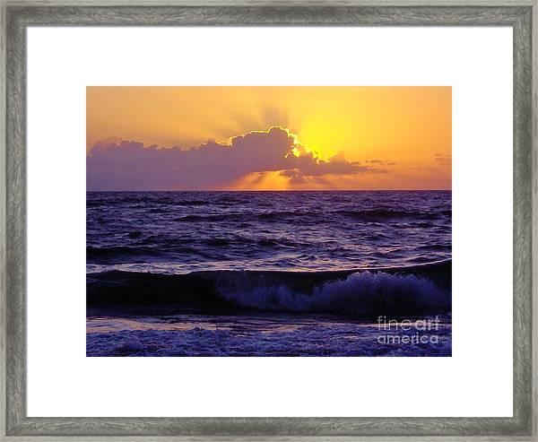 Amazing - Florida - Sunrise Framed Print