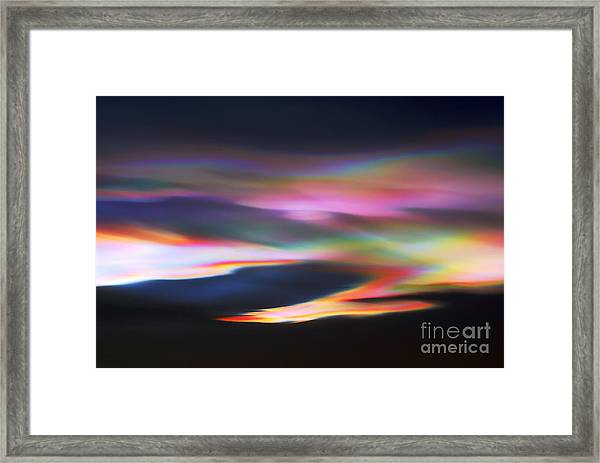 Amazing Mother Nature.. Framed Print