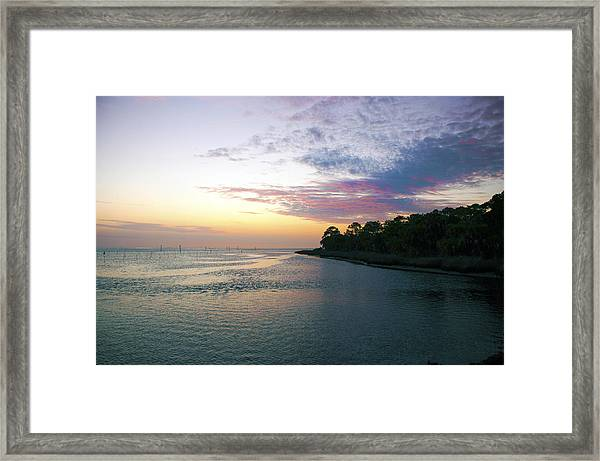 Amazing View Framed Print
