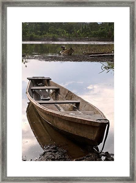Amazon Taxi Framed Print
