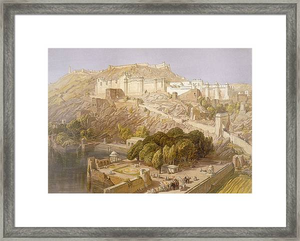 Ambair, From India Ancient And Modern Framed Print