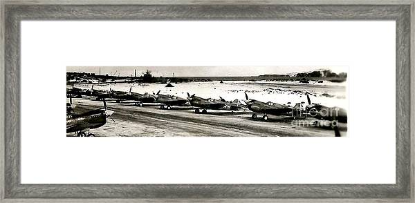 Amchitka Ak Framed Print by Baltzgar