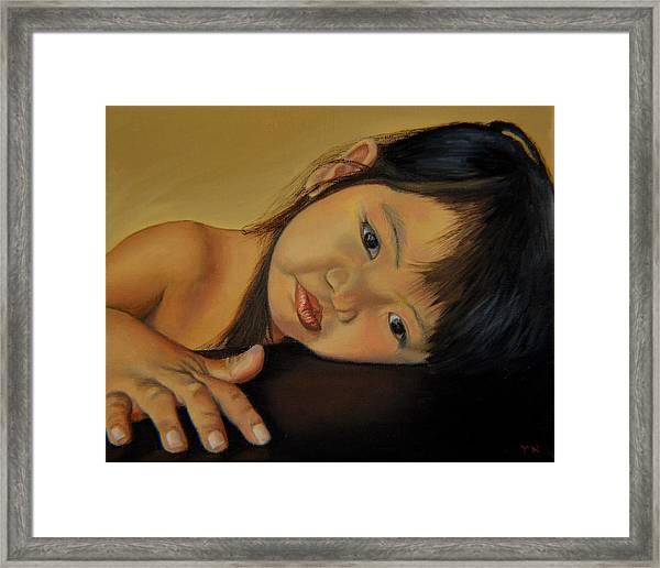 Amelie-an 11 Framed Print