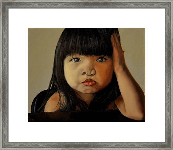 Amelie-an 5 Framed Print