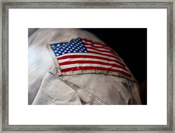 American Astronaut Framed Print