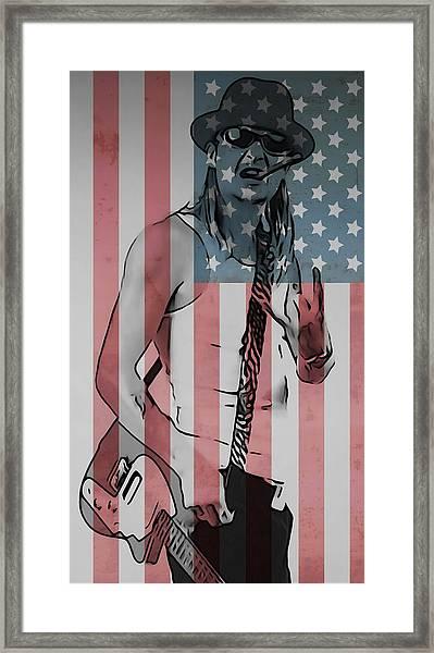 American Badass Framed Print