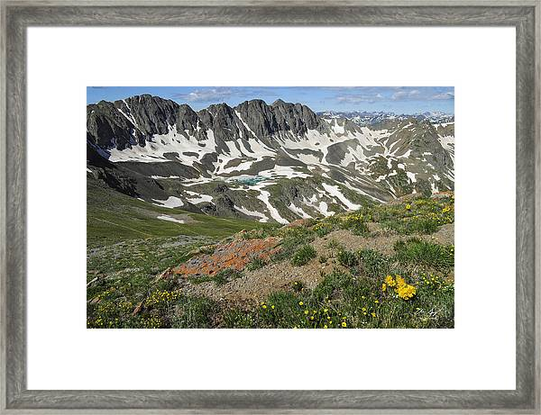 American Basin Framed Print