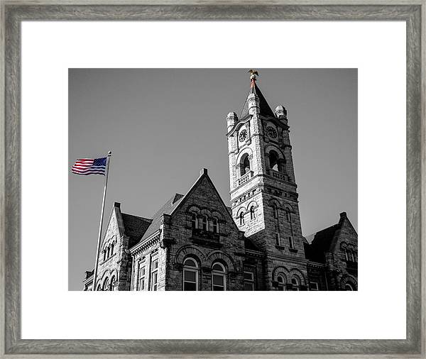 American Courthouse Framed Print