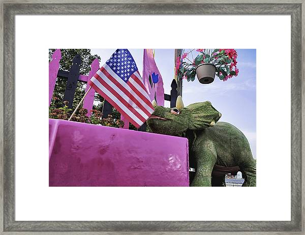 American Dino Framed Print by Jason Politte