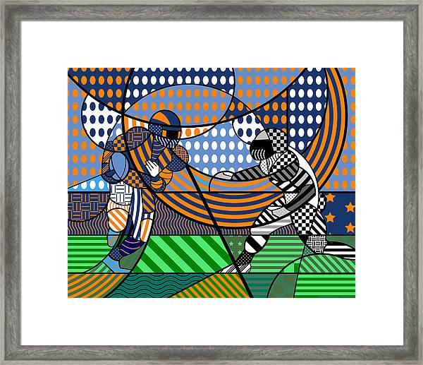 American Football - Broncos Framed Print