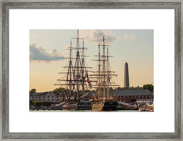 American History Framed Print