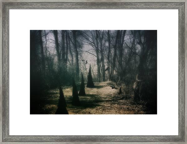 American Horror Story - Coven Framed Print
