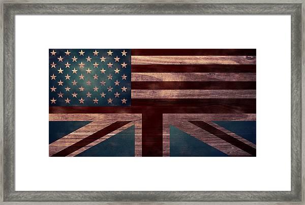 American Jack I Framed Print