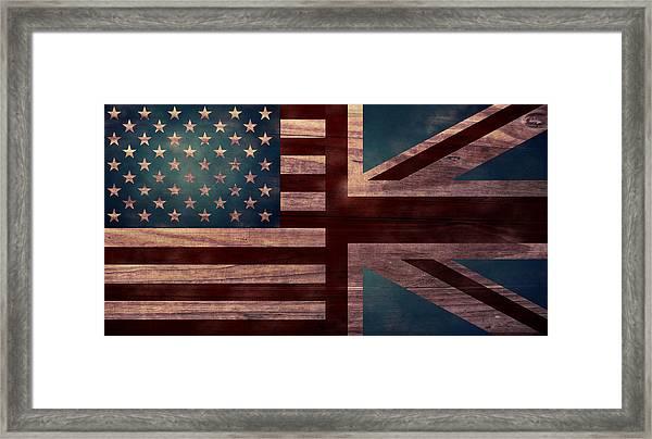 American Jack II Framed Print