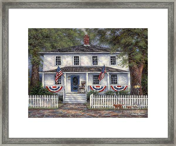 American Roots Framed Print