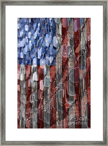 American Sacrifice Framed Print