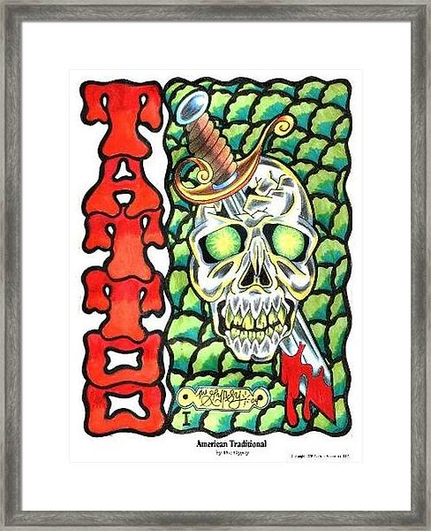 American Traditional Framed Print