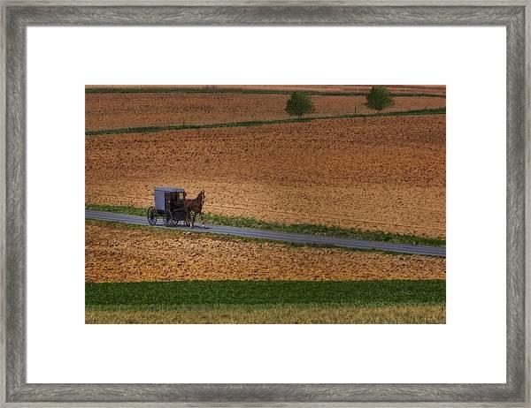 Amish Country Lancaster Pennsylvania Framed Print