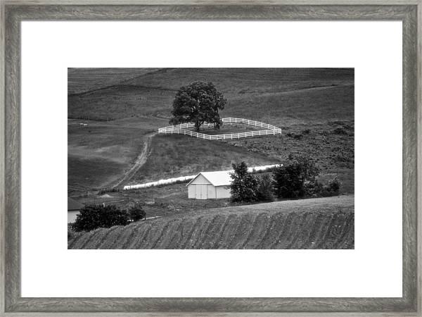 Amish Land Framed Print
