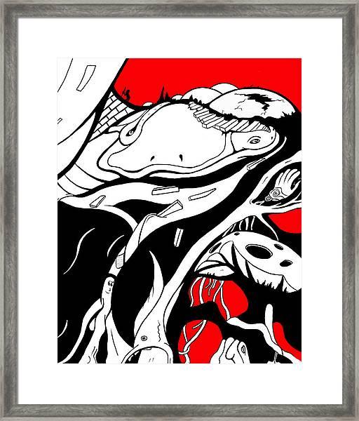 Amphibious Framed Print