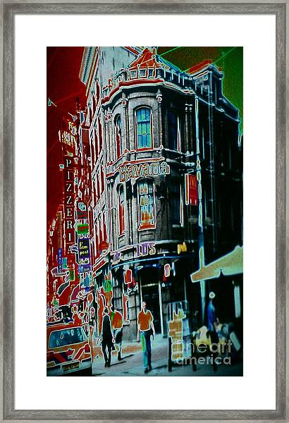 Amsterdam Abstract Framed Print