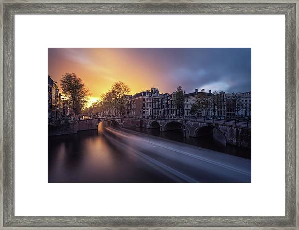 Amsterdam - Keizersgracht Framed Print