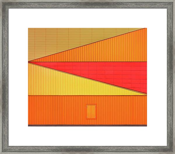 An Agora Variation Framed Print by Theo Luycx