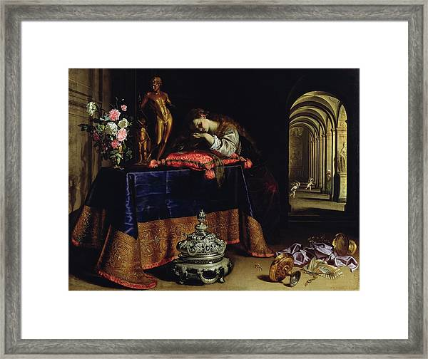 An Allegory Of Repentance Framed Print