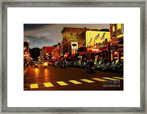 An American Dream Framed Print