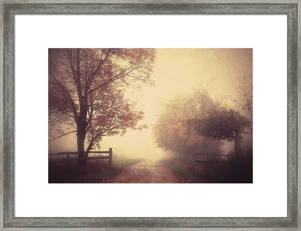 An Autumn Day Forever Framed Print