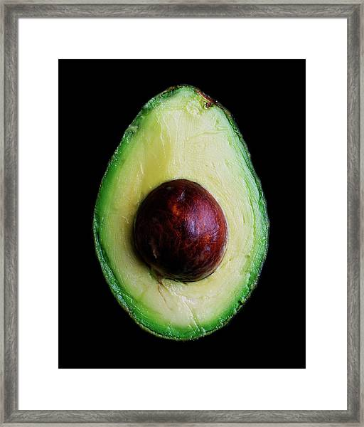 An Avocado Framed Print