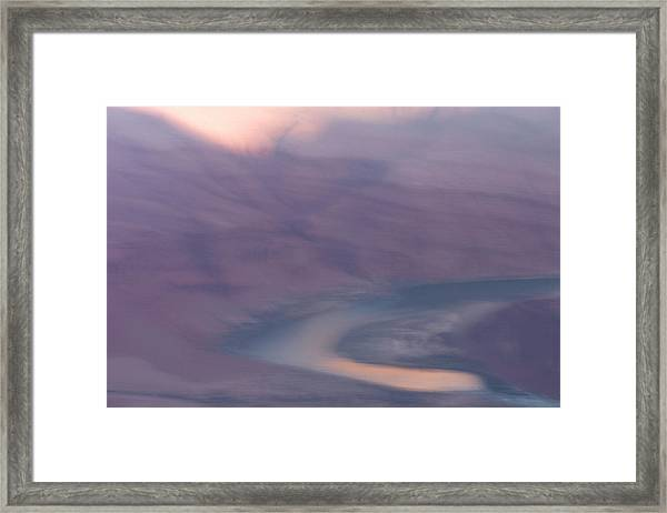 An Early Morning Scene In Grand Canyon Framed Print