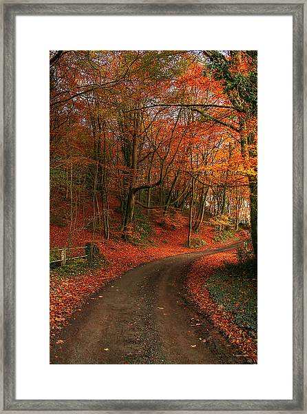 An English Autumn Framed Print