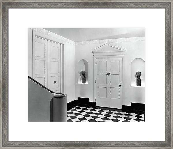 An Entrance Hall Framed Print