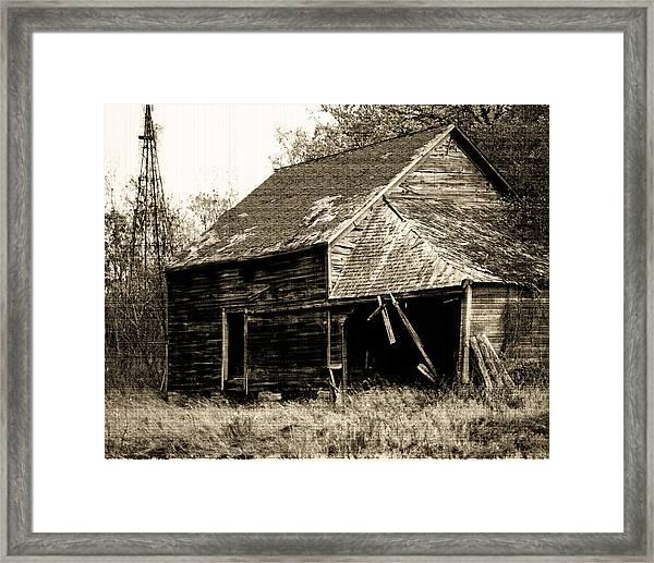 An Era Past Framed Print