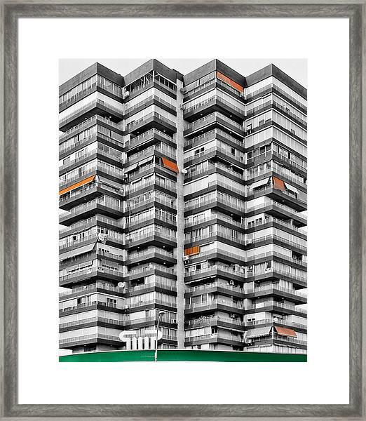 Anarchitecture Viii Framed Print