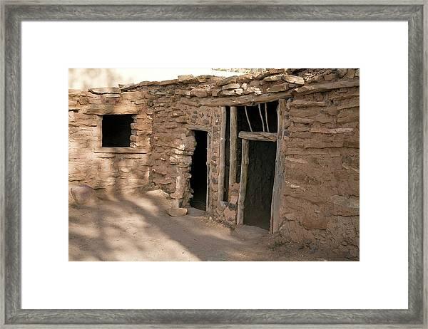 Anasazi House Framed Print