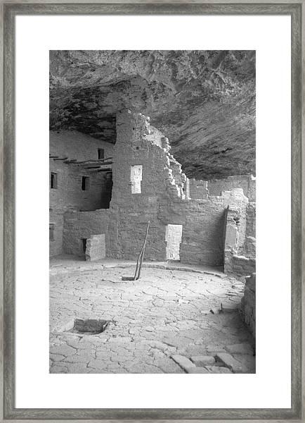 Anasazi Ruin At Mesa Verde Framed Print