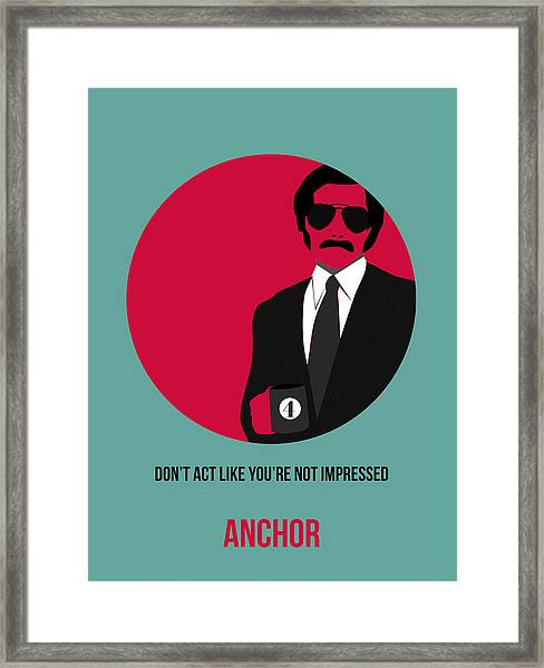 Anchorman Poster 1 Framed Print