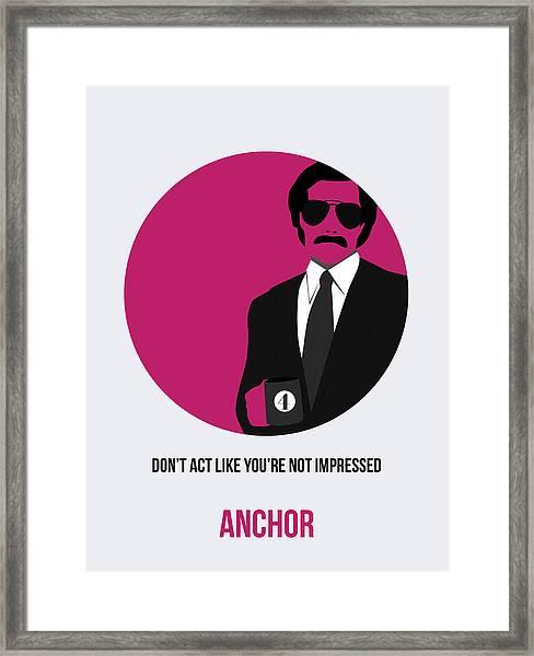 Anchorman Poster 2 Framed Print